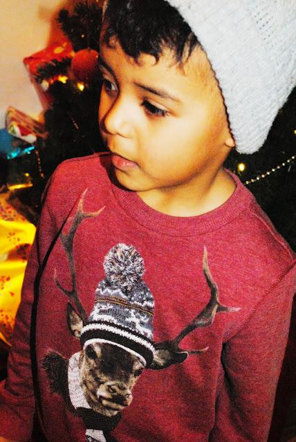 Boys cool Christmas jumper