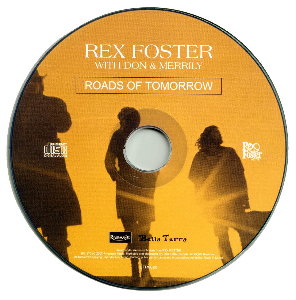 Rex Foster Roads Of Tomorrow