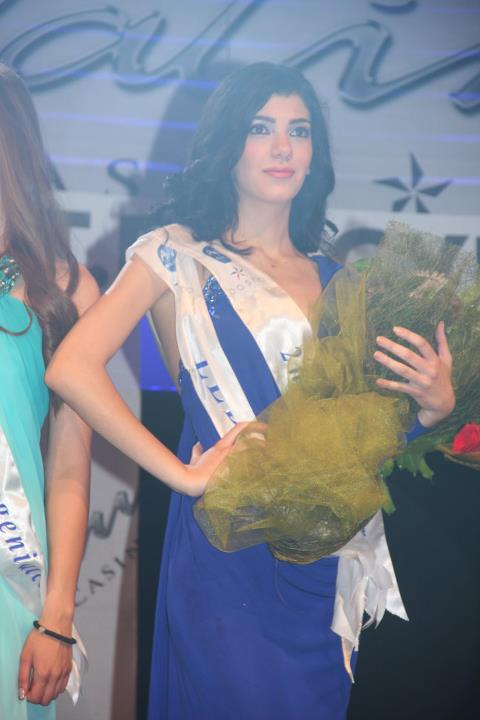 Miss Lebanon Asia Pacific World 2012