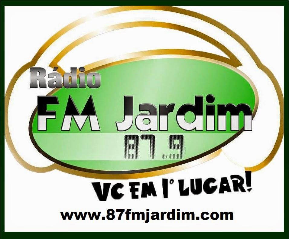 RÁDIO JARDIM FM VC EM PRIMEIRO LUGAR