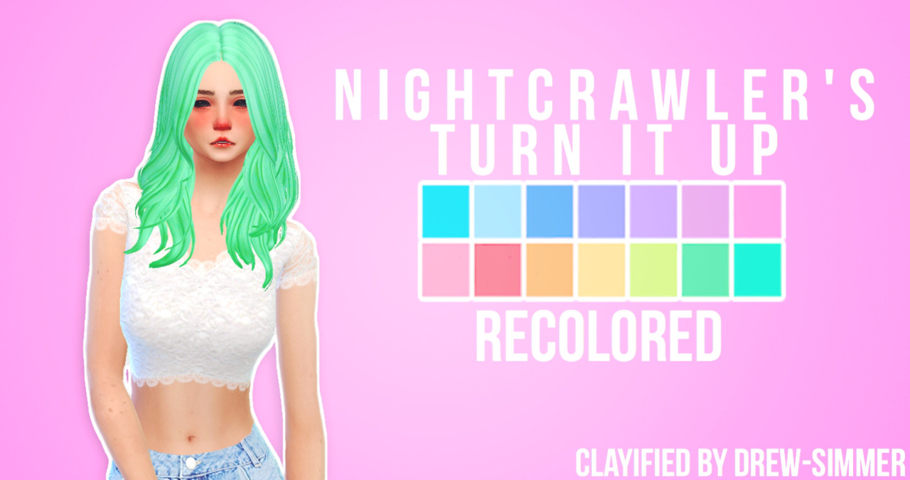 how to make hair recolors ims 4