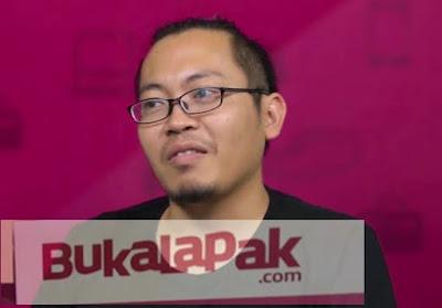 Achmad Zaky pendiri bukalapak.com