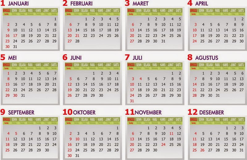 kalender pendidikan 2014 2015 tempatnya orang belajar. Black Bedroom Furniture Sets. Home Design Ideas