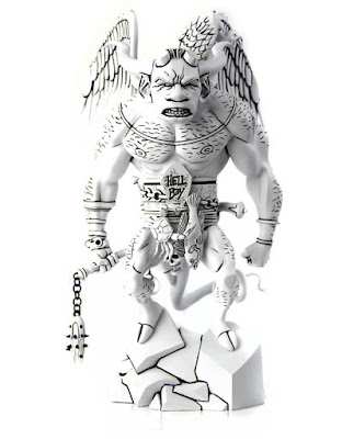 Mondo Exclusive Black and White Edition The First Hellboy Statue by Mondo x Mike Mignola