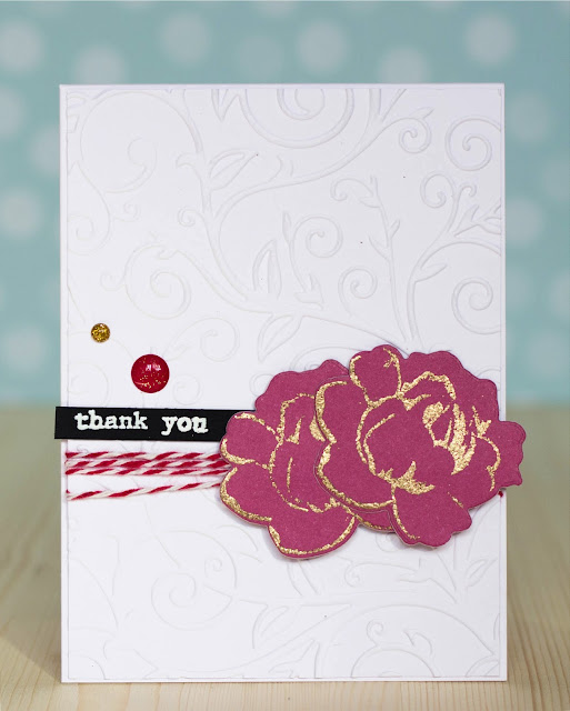CaS card with Altenew flowers by @pionizglini #card #cardmaking #altenew
