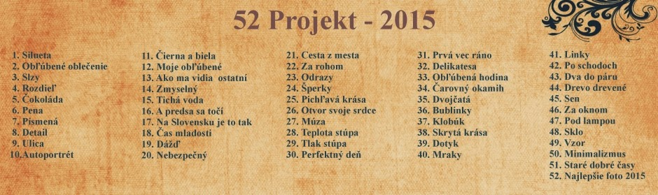 52 Project 2015