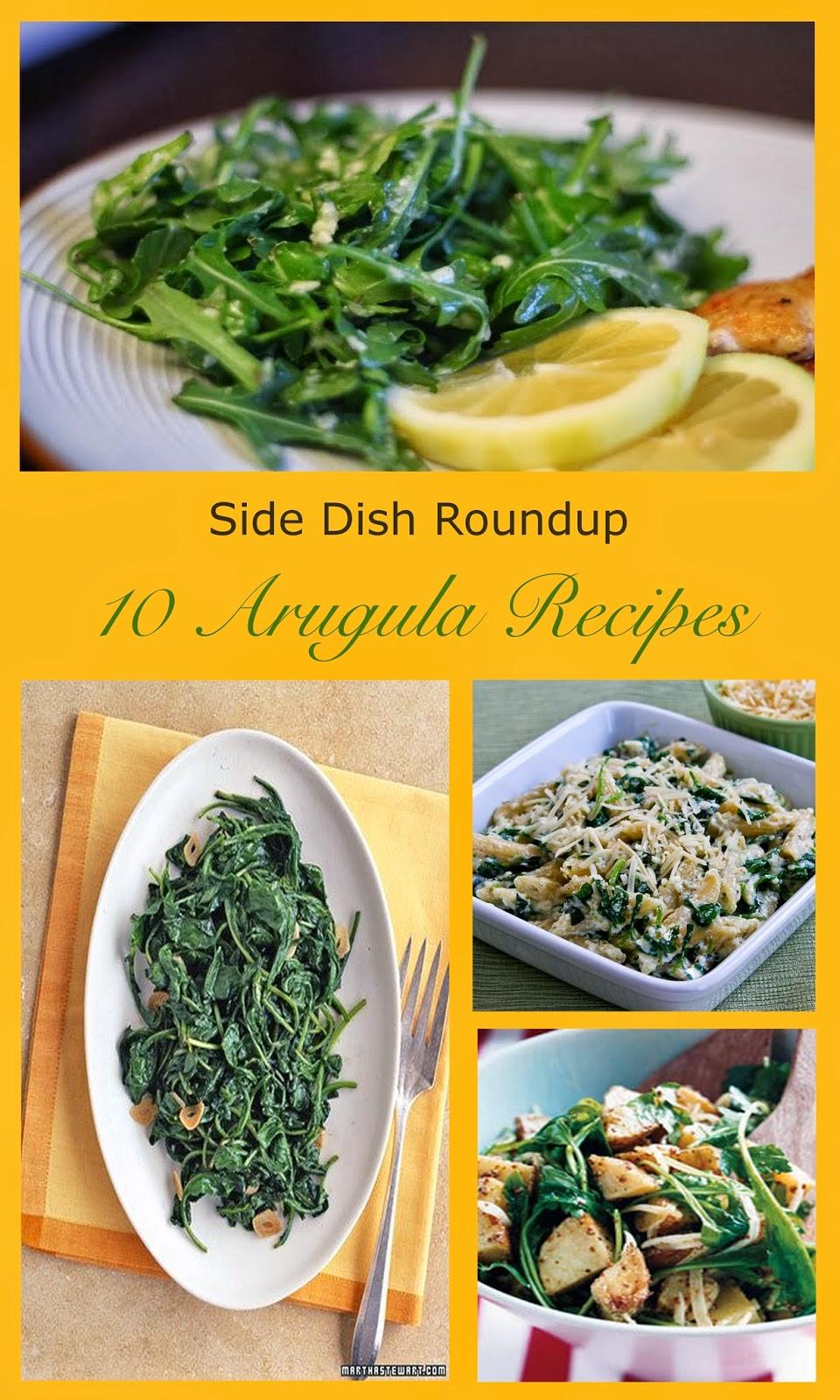 Arugula Side Dish Recipes