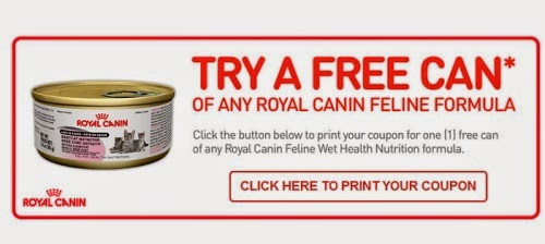 picture regarding Royal Canin Printable Coupon named Canadian Each day Promotions: Royal Canin Absolutely free Cat Foods Can Coupon
