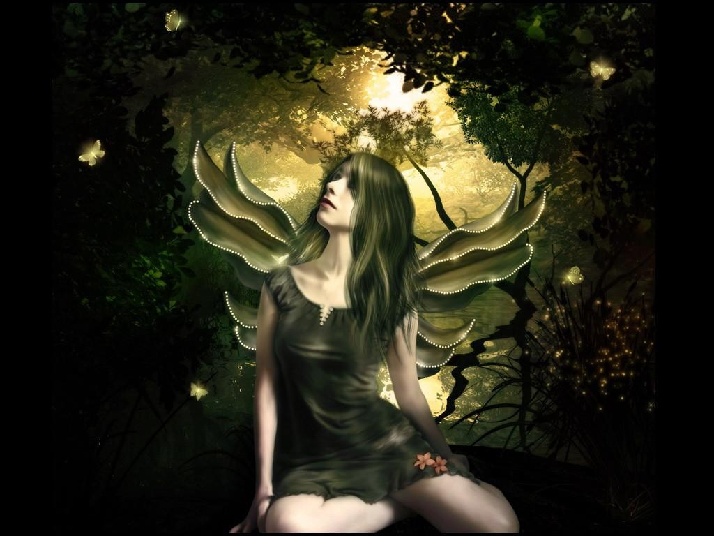 daniel sierra 3d fairy wallpaper cute fairy wallpapers