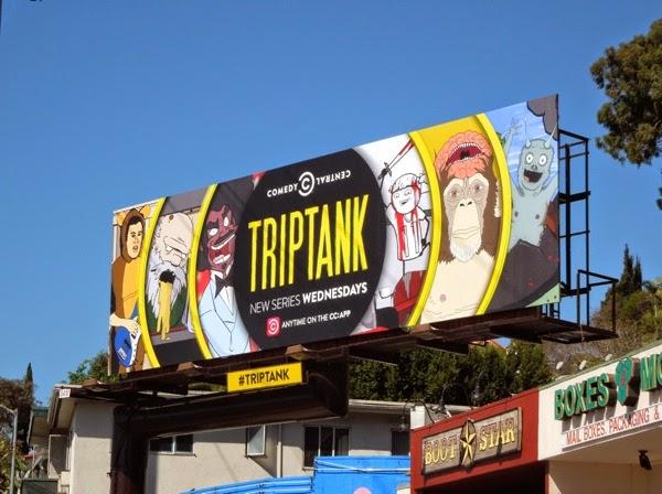TripTank series premiere billboard