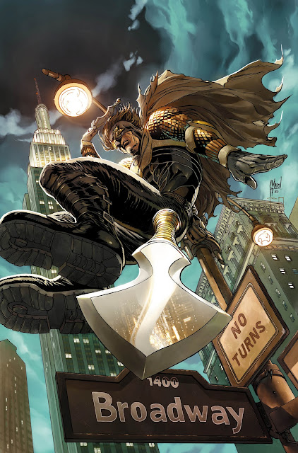 Making of a cover: TALON #3 by Guillem March