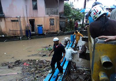 Dua Orang Korban Air Bah Ditemukan