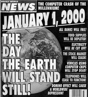 Alasan Kenapa Kiamat 21 Mei 2011 TIDAK Akan Terjadi - ramalan kiamat tahun 2000 tidak terjadi