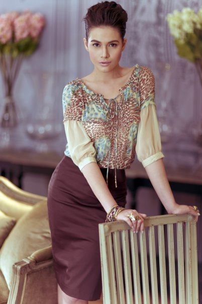 Bea Alonzo Posed as Audrey Hepburn