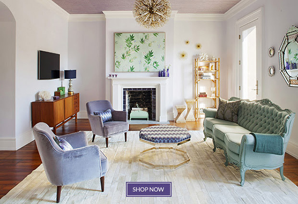 Lavender Living Room : Aesthetic Oiseau: Lavender Living Room