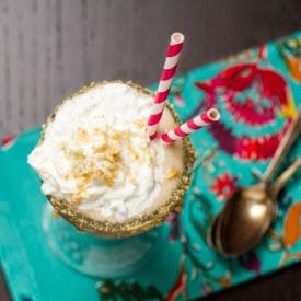 Picture of banana cream pie shake