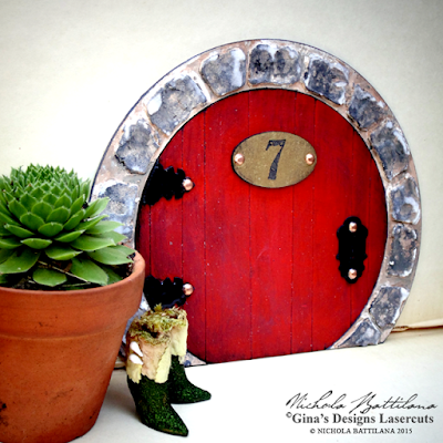 Fairy Door for GinasDesigns.net - Nichola Battilana