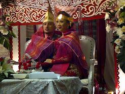 Menyimak Pesta Adat dan Resepsi Pernikahan Chandra Panjaitan dengan Ditha Purba