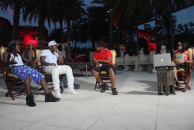 fotos de ymcmb en la entrevista con sway