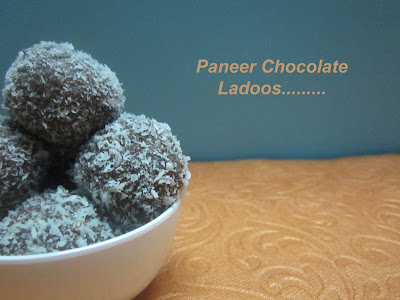 Paneer Chocolate Ladoos - The Right Way To Make Ladoos.
