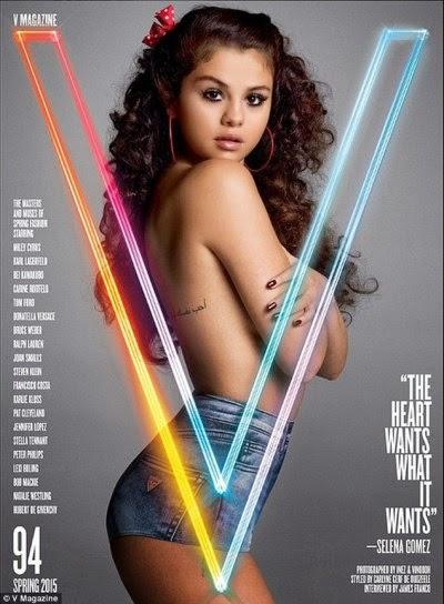 Waduh Selena Gomez Vs Miley Cyrus Tampil Topless di Majalah