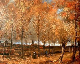 Paisaje otoñal - Vincent Van Gogh