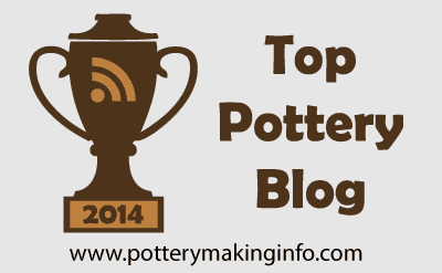 This blog was listed as aTop Pottery Blog in 2014 and 2013 by Pottery Making Info