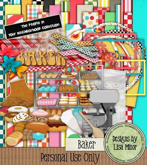 Baker- The People in Your Neighborhood Collection