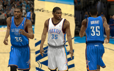 NBA 2K13 Oklahoma City Thunder Jerseys Patch