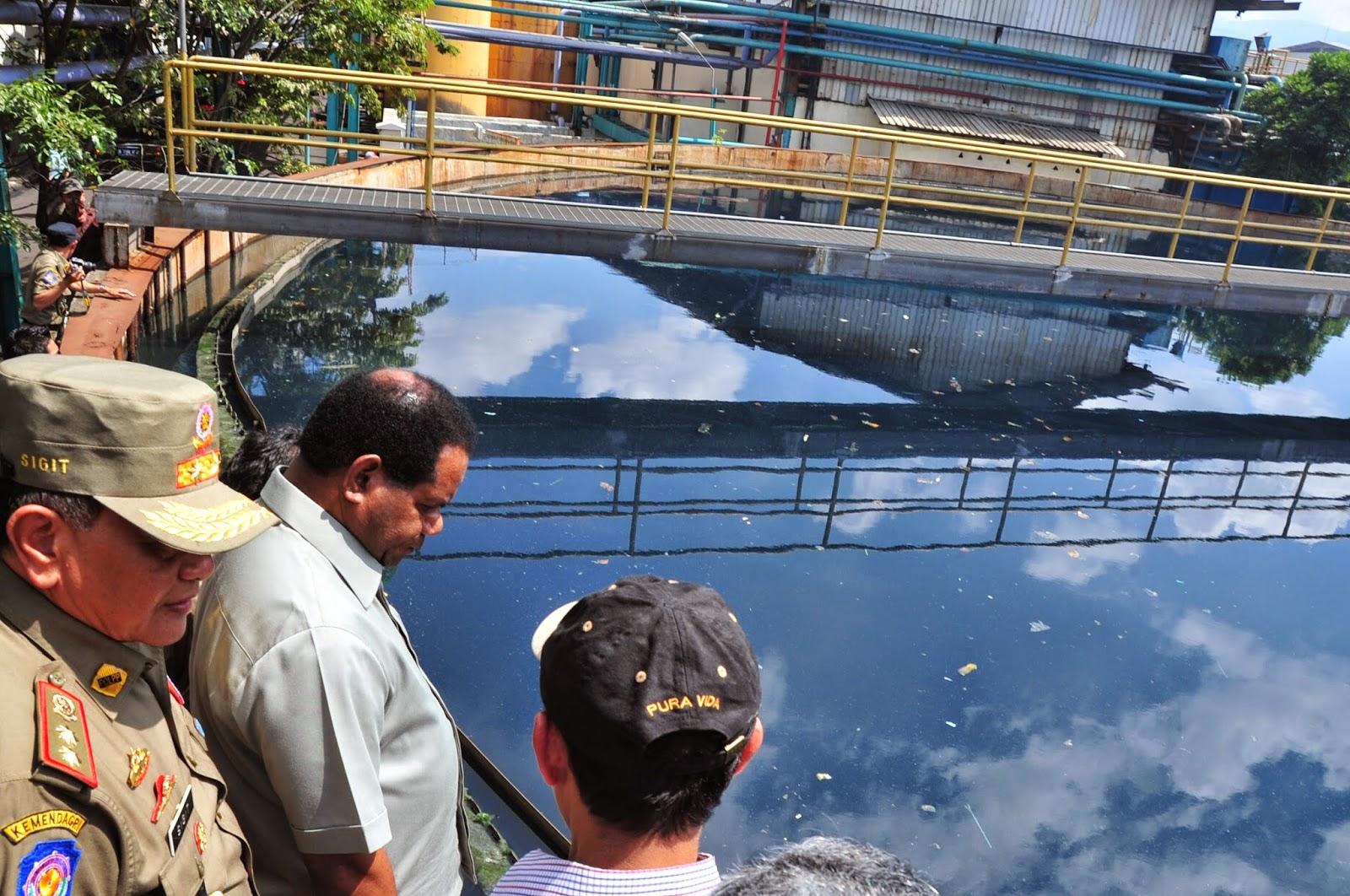 KLH Rencana Gugat Perusahaan Pencemar Lahan Pertanian di Rancaekek