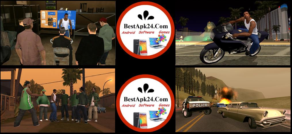 Grand Theft Auto: San Andreas Premium v1.08 Apk+DATA