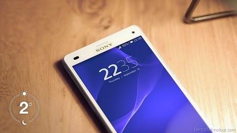 Sony Xperia Z3 compact baterai 2 hari
