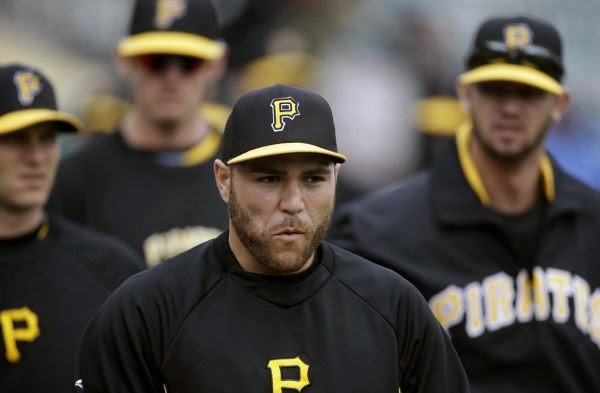 Bleeding Yankee Blue: RUSSELL MARTIN & HIS HOT HEAD