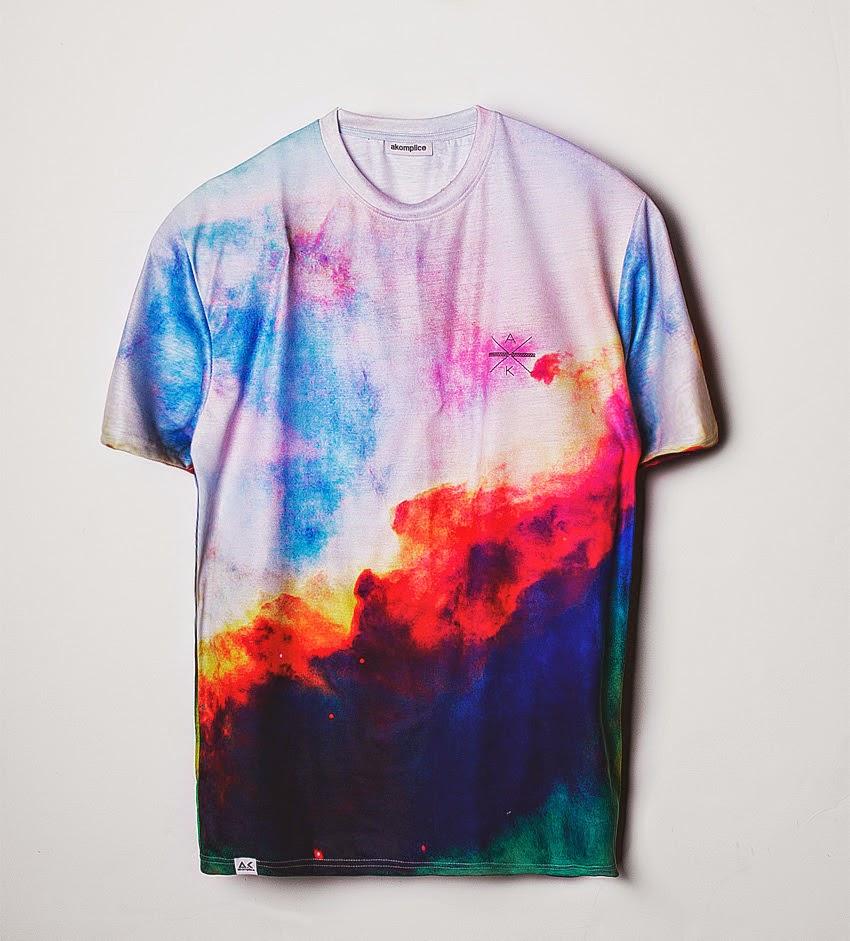 Thirdround Clothing - Akomplice Nebula Tee