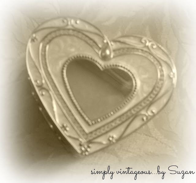 silver, heart, jewellery, box