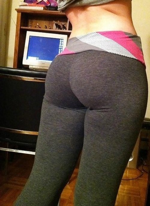 Women And Yoga Pants - FunnyMadWorld