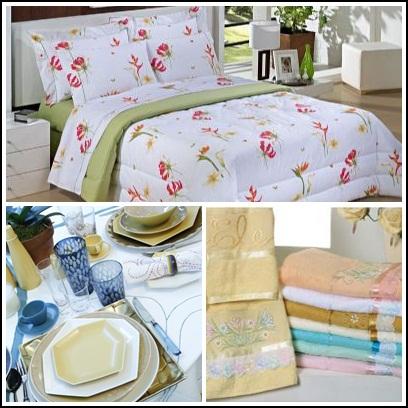 Jardim de b n os lista de enxoval de casamento cama for Cama e mesa