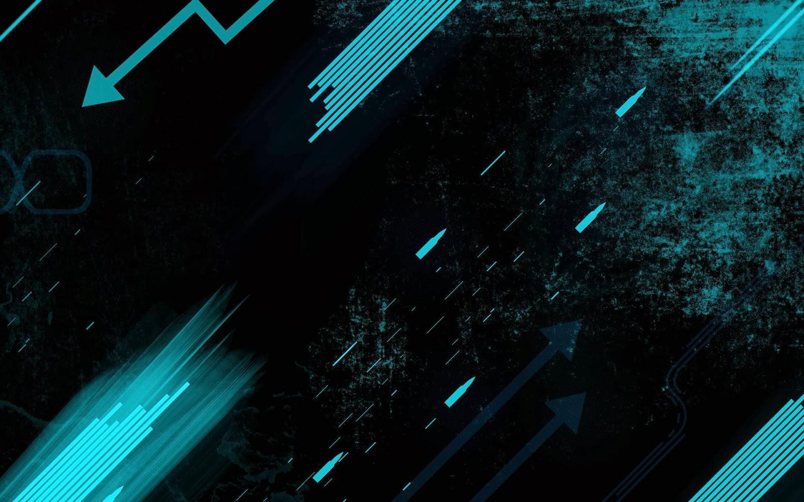 fondo de pantalla abstracto flechas y barras azules