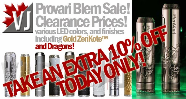 Take 10% Off Provari - Today Only - Clearance Items Included
