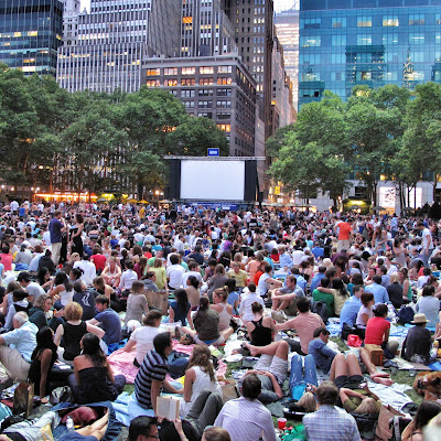 Bryant Park Summer Film Festival New York City