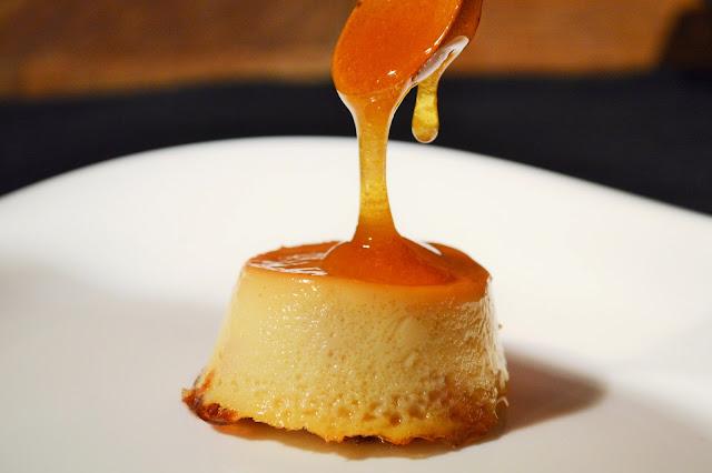 Flan de miel