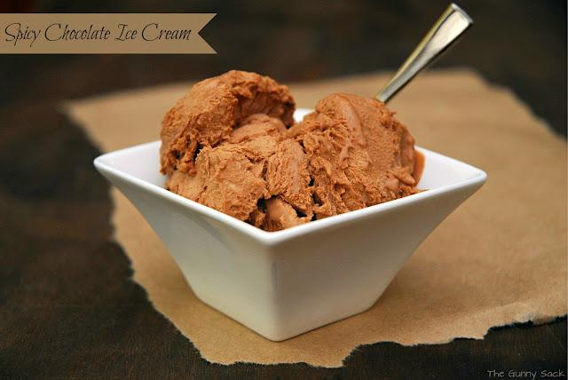 Homemade Spicy Chocolate Ice Cream - The Gunny Sack