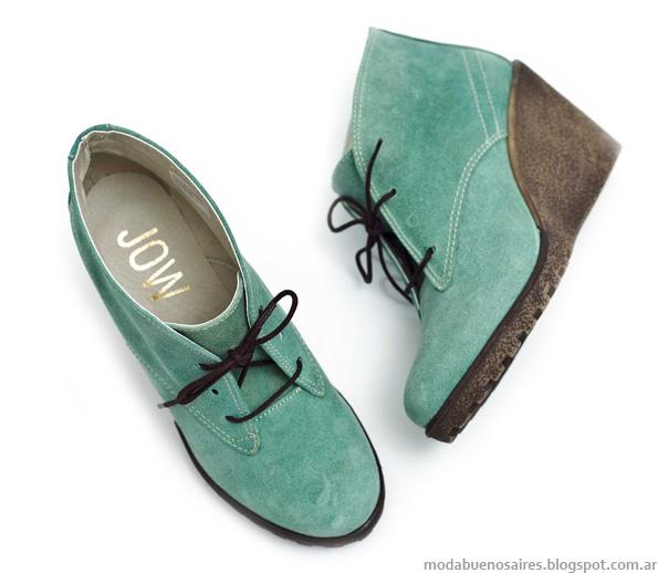 Jow otoño invierno 2013 zapatos y botas