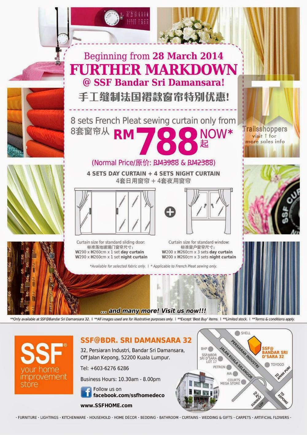 SSF Outlets Bandar Sri Damansar Clearance Sale