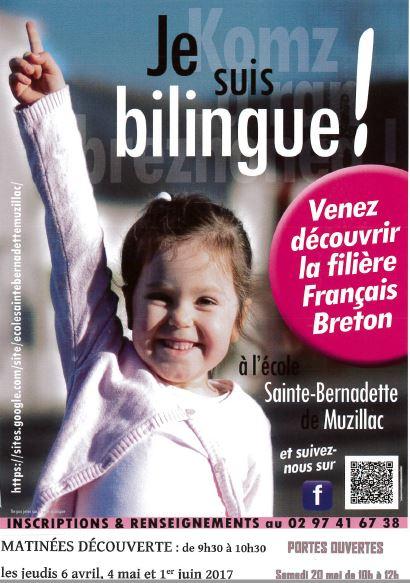 Apprenez le breton à Ste BERNADETTE