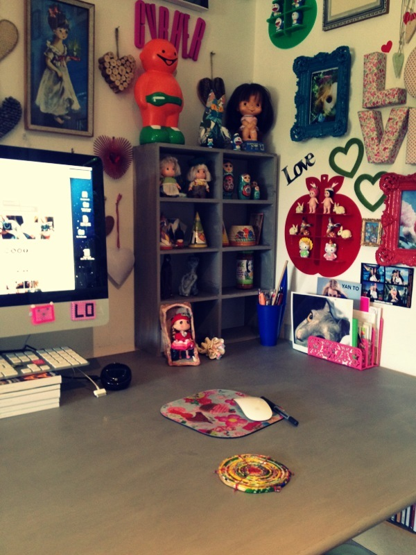 Geekisnewchic my desk