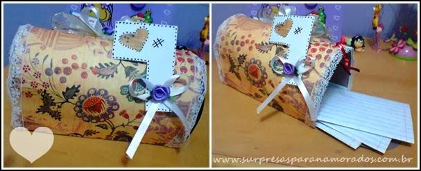 caixa correio para namorado