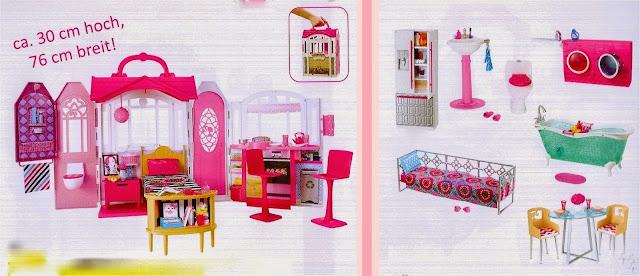 barbie blog: Barbie set de muebles y casa de playa 2015