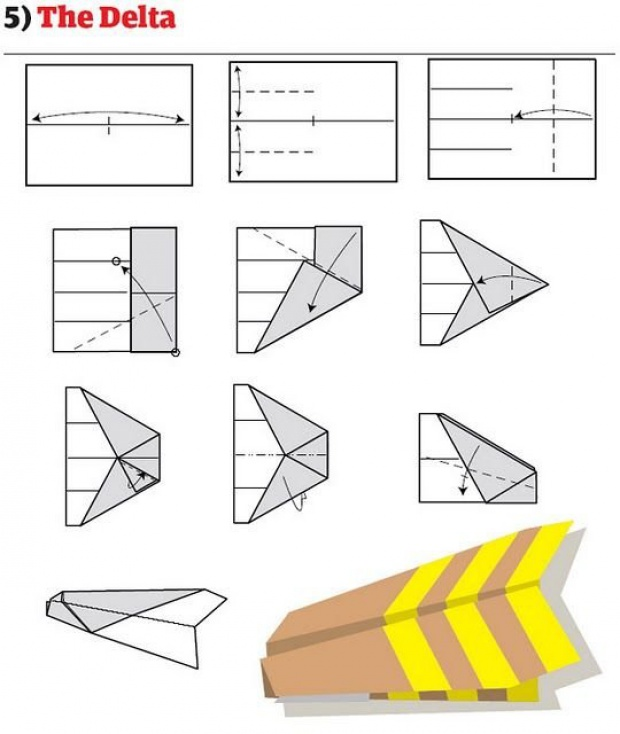 How to make a GOOD PAPER AIRPLANE   cool paper airplanes that fly     YouTube Step by step instructions on how to make a paper plane  This diagram clearly shows