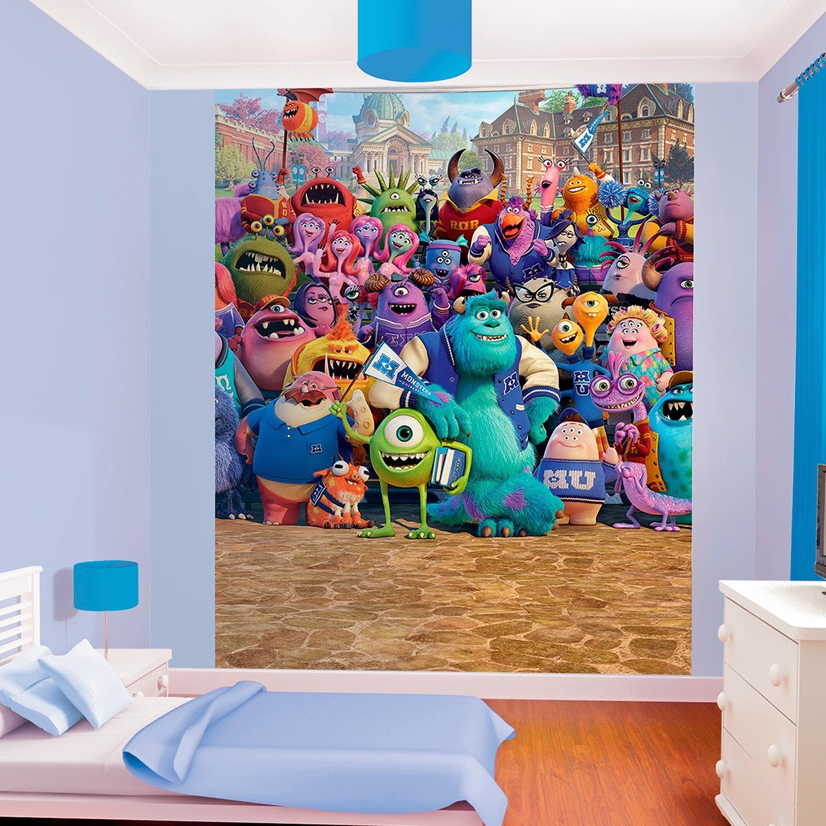 vinilo infantil monsters university